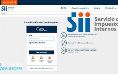 ¿Cómo actualizar la información en el sistema del SII?