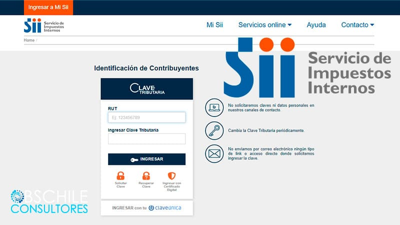 aprende como actualizar tu información en el sistema SII, de forma rápida y sencilla
