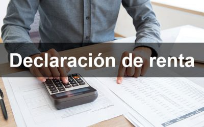 Declaración de renta y formulario 22